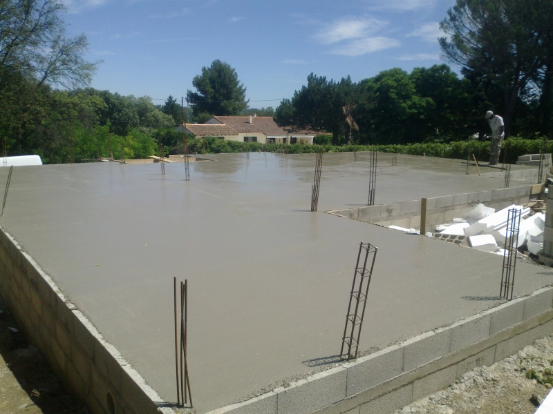 villa en cour de constuction